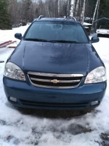 2007 Chevy optra 1500 low km