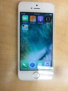 iPhone 5s 16gb (Fido) silver