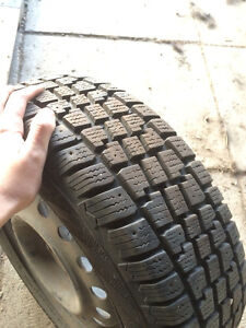 Winter Tires on Rims To Fit Honda Civic Strathcona County Edmonton Area image 1