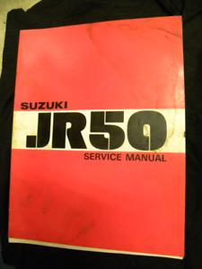 Suzuki JR50 Serivce Manual