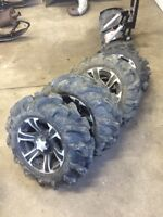 "14"" ITP Rims and 27"" Mega Mayhems for CAN AM"