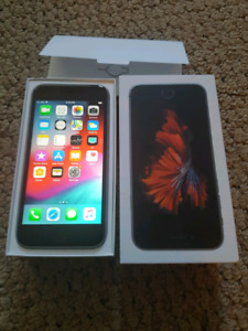 iPhone 6s unlock 128gb like new with box and accessories