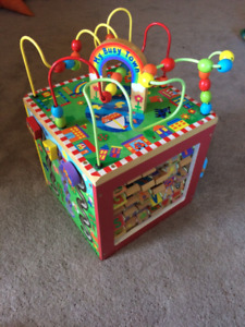 My Busy Town Activity Cube