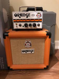 Orange Micro Terror and Cab