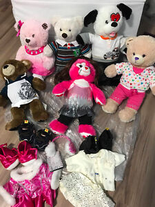 6 PCS BUILD A BEAR WITH ACCESSORIES