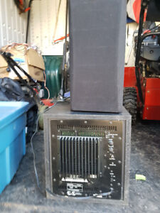 Kenwood Home Theatre Subwoofer