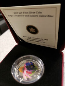 $20 Venetian Glass Butterfly coin - Royal Canadian Mint
