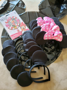 Mickey Minnie Party supplies