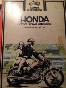 1960s Honda Vintage Superhawk 250 305 Service Repair Manual