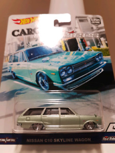 Hot wheels Cargo Carriers Nissan Skyline C10 Wagon
