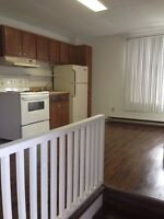1 bedroom apt, downtown campbellton. Available immediately