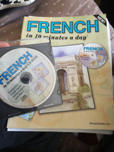 FRENCH IN 10 MINUTES WORKBOOK AND CD