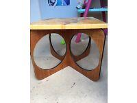 Small retro coffee table