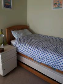 M & S hideaway single bed