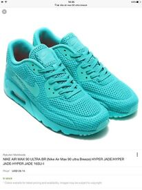 Nike Air Max 90 Ultra Breeze Brand New Rare Colour UK Size 6