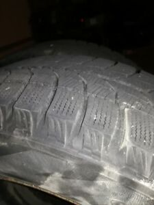 4 snow tires with rims for sale