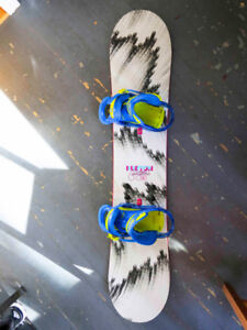 Kids Burton Snowboard Package