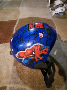 Kids Spiderman helmet