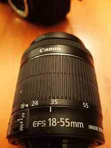 Canon Rebel T6i DSLR, 2 lenses, flash, memory card, and case. Kitchener / Waterloo Kitchener Area image 4