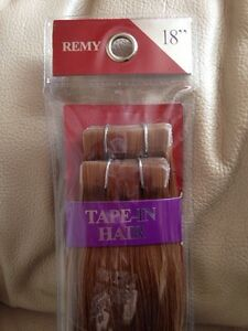 18 Inch Tape In Hair Extensions- brand new