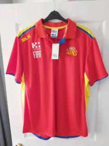 Gold coast Sun's shirt. Brand new. XXL