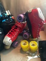 Roller Skates and Pads