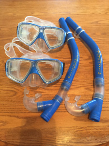 Youth Snorkel - Set of 2