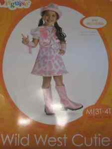 Toddler Girl Wild West Cowgirl