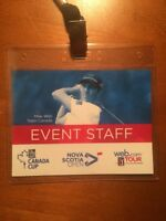 Two Passes for the Nova Scotia Open & RBC Cup