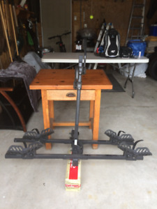 2 Bike Platform Hitch Carrier