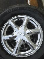 GMC wheels and new winter tires 265/70/16