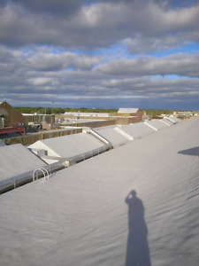 Spray Foam Roofing System - Leaks- Spray foam -Flat Roof Repair