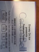 5 Tickets for Disney on Ice at the Bell Center (English)