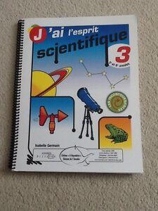 J'ai l'esprit scientifique 3 (5e et 6e années) Gatineau Ottawa / Gatineau Area image 1