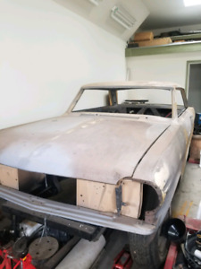 1965 Acadian Canso for sale 2dr hrdstop project car