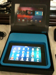 Blackberry Playbook -64GB!! Rapid Charger w/Case,Box - Like New
