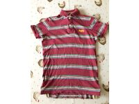 Small Men's SUPERDRY Polo Shirt - Excellent Condition