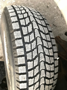 4 Excellent mags and winter Tires 255/65 R16 *** just $400 ***