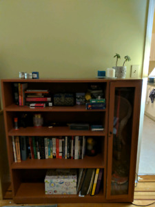 Wooden book shelf/cabinet