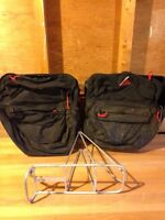 Cannondale panniers and bike rack