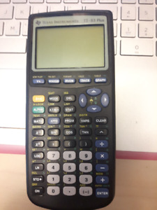 Texas Instruments T1-83 Plus Calculator for sale