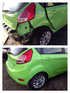 autobody repairs ( Dents, scratches removed, rust, chips, paint)