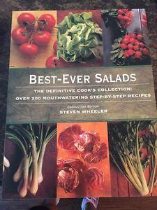 BBQ and salad s cookbooks