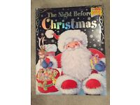 Brand new the night before Christmas story book