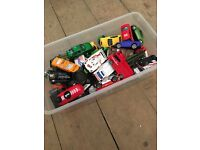 GONE - Box of toy cars