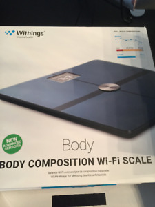 Body composition wifi weight scale