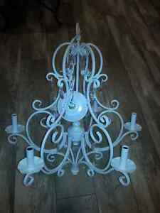 Brand New White Chandalier - Never Used Cambridge Kitchener Area image 1