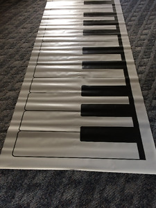 VINYL FLOOR KEYBOARD MATS FOR SALE
