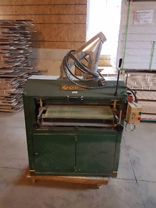 double head thickness sander