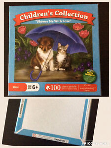 Cat and Dog Puzzle Edmonton Edmonton Area image 1